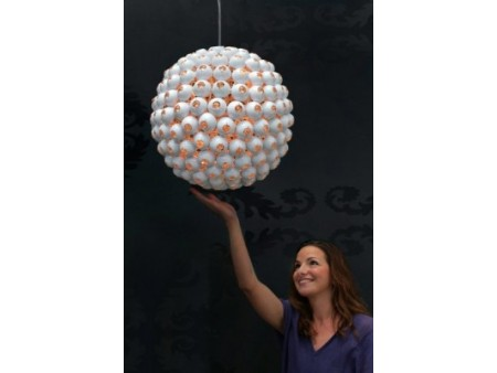 Lampe suspension design Ball white pour 249€