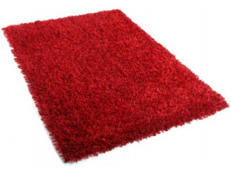 Tapis design Deluxe rouge rubis pour 259€