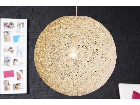 Lampe suspension Cocoon L blanc pour 95€