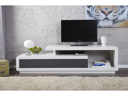 meuble tv ikea blanc lack. Black Bedroom Furniture Sets. Home Design Ideas