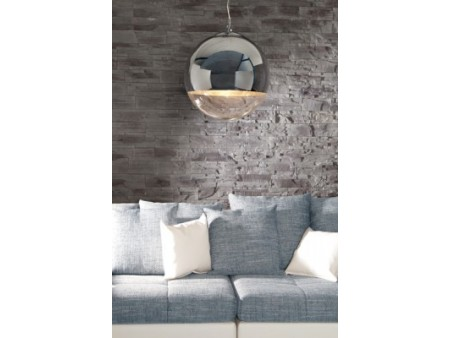 Lampe suspension design Ball chromé 40 cm pour 149€